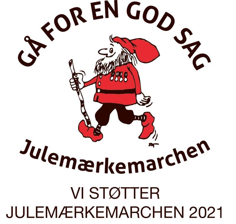 byBornemann støtter Julemærkemarchen 2021